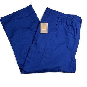 Carhartt Men's Ripstop Cargo Scrub Pants 3XL Short